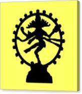 Dancing Shiva Canvas Print