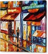 Dancing Street Canvas Print