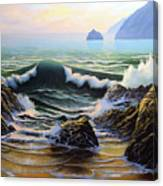 Dancing Tide Canvas Print