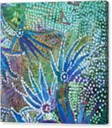 Dancing Weeds Canvas Print