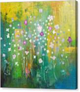Dancing Wildflowers Series Canvas Print