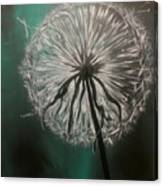 Dandelion Phatansie Canvas Print