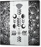 Dandelion Puff Canvas Print