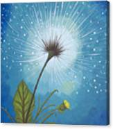 Dandy Dandelion Canvas Print