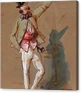 Dandy In Paris Canvas Print