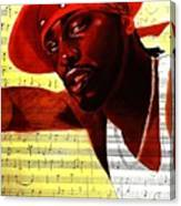 D'angelo-singer Canvas Print