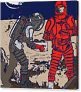 Danger In Deep Space Canvas Print