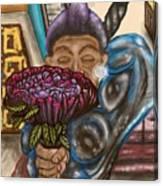 Dangerous Flowers Canvas Print