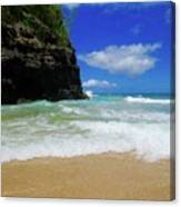 Dangerous Yet Beautiful Kauai Canvas Print