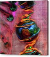 Dangling Canvas Print