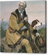 Daniel Boone (1734-1820) Canvas Print