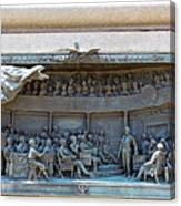 Daniel Webster In The Webster - Hayne Debate Canvas Print