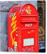 Danish Mailbox Canvas Print