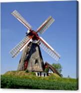 Danish Windmill Canvas Print