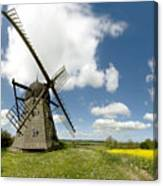 Danish Windmill Canvas Print