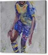 Danny Wellbeck - Portrait 1 Canvas Print