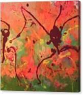 Dansing Ant's Canvas Print