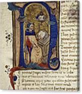 Dante: Divine Comedy Canvas Print
