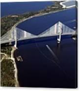 Dantes Bridge Canvas Print
