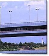 Danube River Bridges Canvas Print