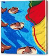 Danzantes Canvas Print