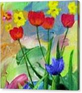 Daria's Flowers Canvas Print