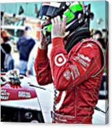 Dario Franchitti  Canvas Print