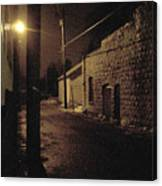 Dark Alley Canvas Print