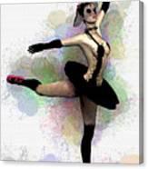 Dark Ballerina  Canvas Print