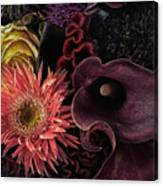 Dark Bouquet Canvas Print
