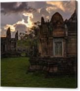 Dark Cambodian Temple Canvas Print