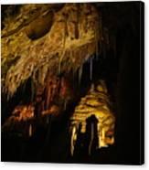 Dark Cave Canvas Print