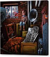Dark Exile Canvas Print