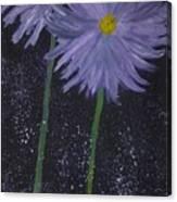 Dark Floral  Canvas Print