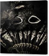Dark Night Carnival Affair Canvas Print