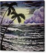 Dark Storm Approaching Canvas Print