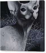 Darkness Cat Canvas Print