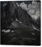 Darkness Comes In Claree Valley Canvas Print