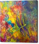 Darling Dragonfly Canvas Print
