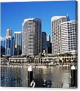 Darling Harbour Sydney Australia Canvas Print