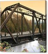 Darrington Bridge Br-6002 Canvas Print