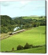 Dart Valley Steam  Canvas Print