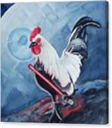 Darth Chicken Canvas Print