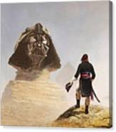 Darth Sphinx 3 Canvas Print
