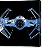 Darth Vaders Tie Figher Advanced X1 Tee Canvas Print