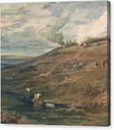 Dartmoor The Source Of The Tamar And The Torridge Canvas Print