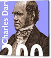 Darwin 200 Lilac Canvas Print