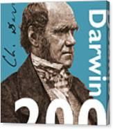 Darwin 200 Canvas Print