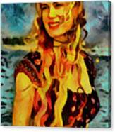 Daryl Hannah Collection - 1 Canvas Print