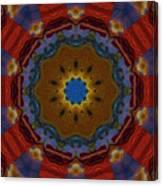 Das Bunte Kaleidoskop Canvas Print